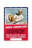 Arise Americans Navy Recruitment Poster