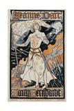 Jeanne D'Arc - Sarah Bernhardt Theater Poster