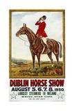 Dublin Horse Show Poster