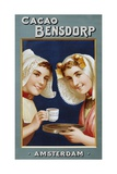 Dutch Advertising Poster for Cacao Bensdorp