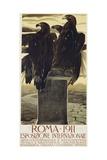 Esposizione Internationale  Roma 1911 Poster