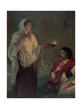 The Lady with the Lamp (Miss Nightingale at Scutari  1854)