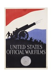 United States Official War Films Poster