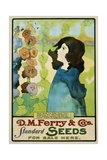 DM Ferry and Co's Standard Seeds Poster