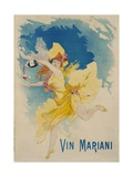Vin Mariani Poster Giclée par Jules Chéret