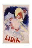 Lidia Poster Giclée par Jules Chéret