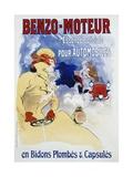 Benzo-Moteur Poster Giclée par Jules Chéret
