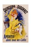 Quinquina Dubonnet Poster Giclée par Jules Chéret