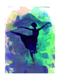 Ballerina's Dance Watercolor 2
