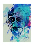 Gandhi Watercolor