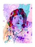Jackie Kennedy Watercolor