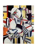 Mechanical Elements, 1918-23 Giclée par Fernand Leger