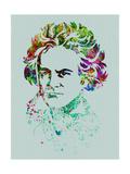 Beethoven Watercolor