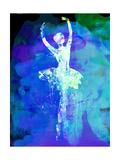 Ballerina's Dance Watercolor 4