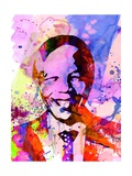 Nelson Mandela Watercolor