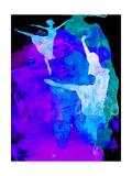 Two Ballerinas Watercolor 3