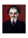 Portrait of Daniel Henry Kahnweiler (1884-1979) 1907