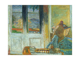 The French Windows Or  Morning in Le Cannet  1933