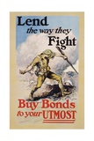 Lend the Way They Fight Poster