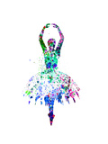 Ballerina Dancing Watercolor 4