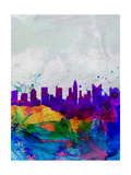 Columbus Watercolor Skyline