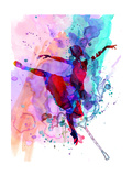 Ballerina's Dance Watercolor 1