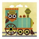 Owl Train Conductor