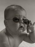 Baby Wearing Granny Glasses Sunglasses