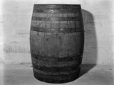 1933 Single Wooden Whisky Barrel