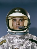 1960s Portrait Man Space Suit Astronaut