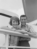 Portrait Smiling Couple Standing