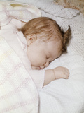 1960s Sleeping Baby Infant