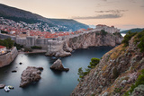 Dubrovnik and the City Walls at Sunrise