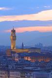 Palazzo Vecchio from Piazzale Michelangelo