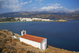 Chapel  Hora  Andros Island  Cyclades  Greek Islands  Greece  Europe