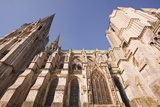 Gothic Architecture on Chartres Cathedral