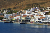 Korissia Harbour  Kea Island  Cyclades  Greek Islands  Greece  Europe