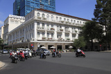 Colonial Architecture of the Historic Hotel Continental Saigon