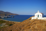 White Chapel  Hora  Andros Island  Cyclades  Greek Islands  Greece  Europe