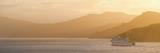 Queen Charlotte Sound at Sunset
