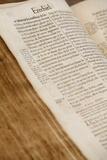 Old Bible  Geneva 1678  Paris  France  Europe
