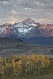 Wilson Peak at Dawn in the Fall
