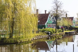 Preserved Historic Houses in Zaanse Schans