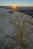 Sunrise over Navajo Sandstone