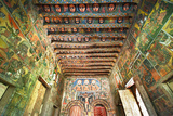 Ancient Wall Paintings in the Interior of the Debre Birhan Selassie Church