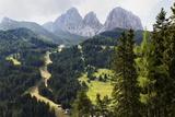 The Dramatic Sassolungo Mountains in the Dolomites Near Canazei  Trentino-Alto Adige  Italy  Europe