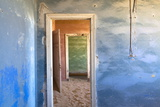 Interior of Building Slowly Being Consumed by the Sands of the Namib Desert