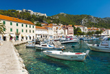 Hvar Harbour and Fortica (Spanish Fortress)