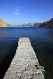 Jetty on the Secluded and Remote North Coast of Kalymnos Island