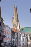 The Gothic Spires of Chartres Cathedral